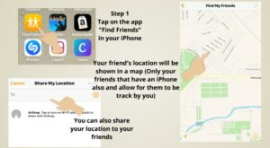 Track using Find Friends