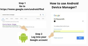 How to use Android Device Manager 5