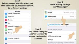 track using facebook messenger 1