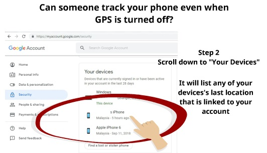 track phone without gps | My Phone Locater