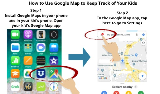 find people using google maps | My Phone Locater