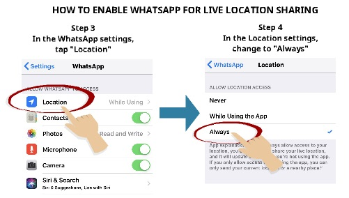 track phone using whatsapp | My Phone Locater